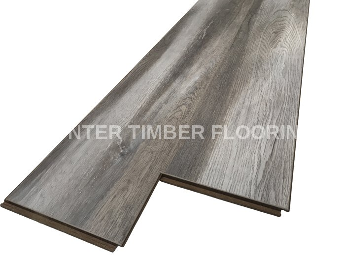 Htl803 Iron Oak Ac4 Iron Oak Laminate Flooring