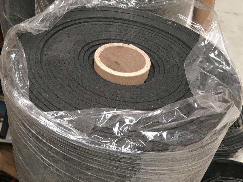 5mm Rubber Underlay Black Acoustic Rubber Underlay For